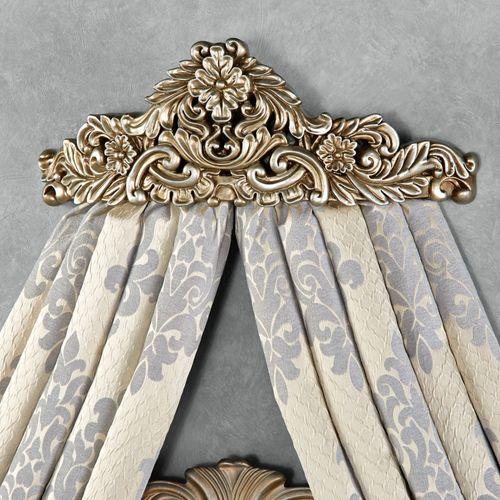Vania Wall Teester Bed Crown Platinum