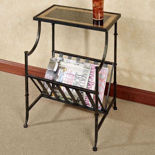 Regency Magazine Table Bronze
