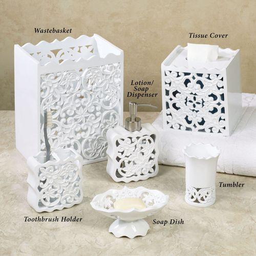 Belle Lotion Soap Dispenser White