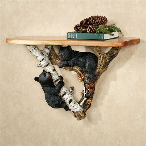 Playful Cubs Wall Shelf Multi Earth