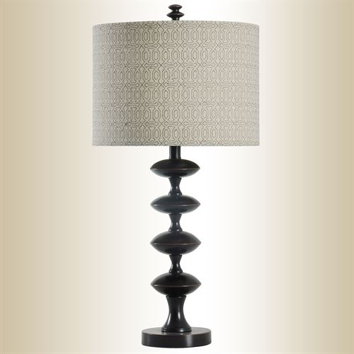 Stacked Spheres Table Lamp Espresso