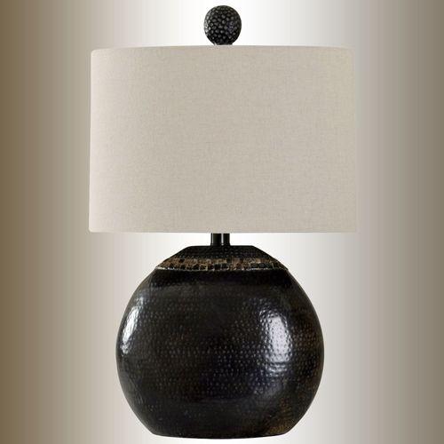 Pebble Table Lamp Dark Bronze
