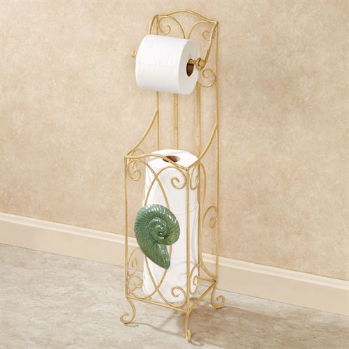 Sandy Side Toilet Paper Holder Flax