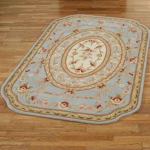 Leila II Aubusson Rectangle Rug