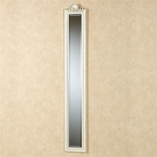 Larissa Wall Mirror Panel Ivory