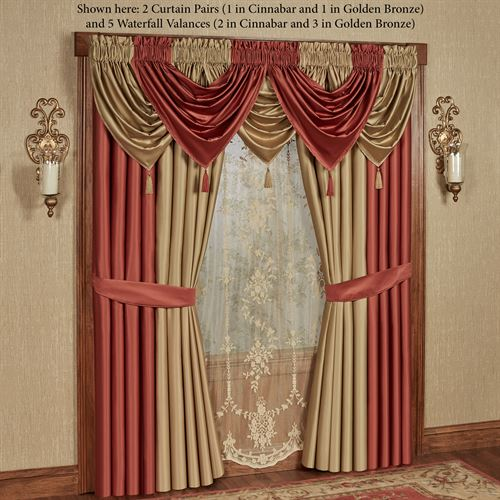 Cambridge Classics Tailored Curtain Pair 84 x 84