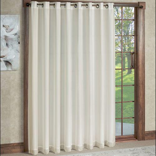 Rhapsody Wide Width Grommet Curtain Panel