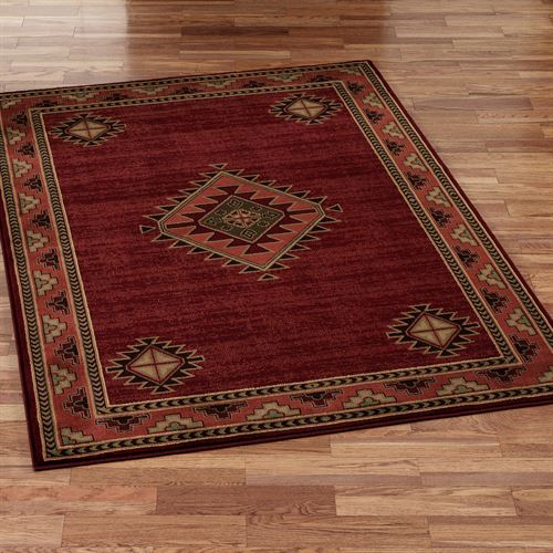Laramie Diamond Rectangle Rug