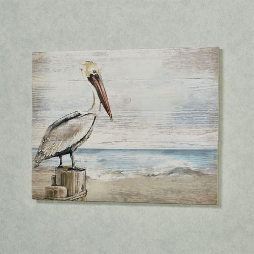 Pelican Wall Plaque Multi Cool