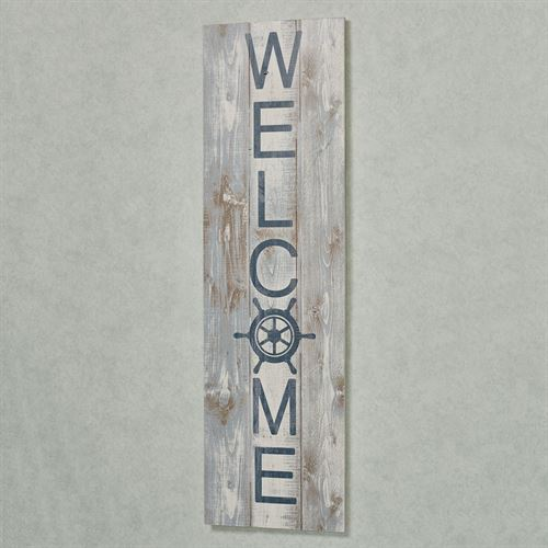 Welcome Sailor Wall Plaque Sign Multi Cool