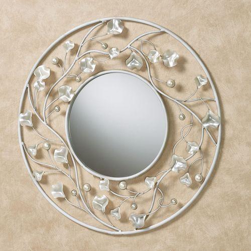 Pearlyssa Round Wall Mirror