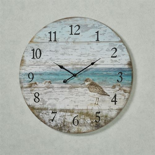 Sand Piper Wall Clock Multi Cool
