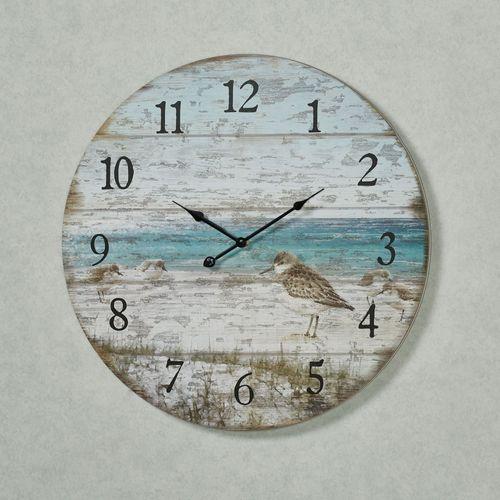 Sand Piper Wall Clock Multi Cool