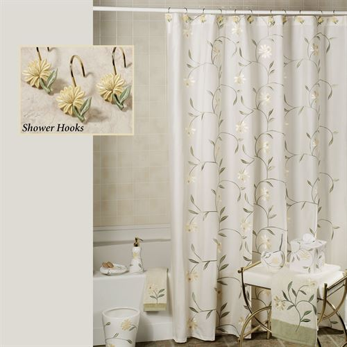 Penelope Shower Curtain Yellow