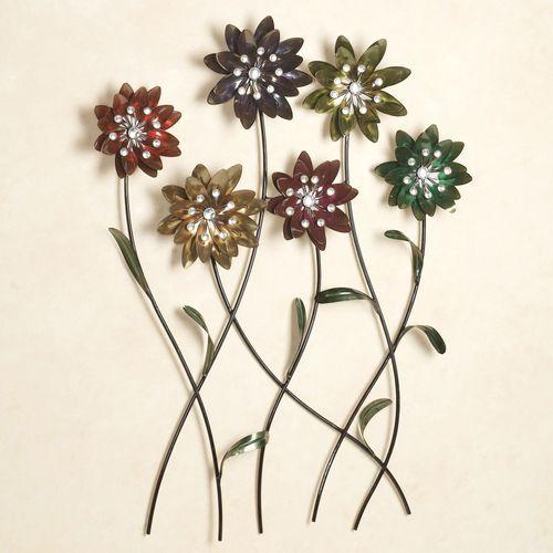 Flower Song Wall ArtMulti Jewel