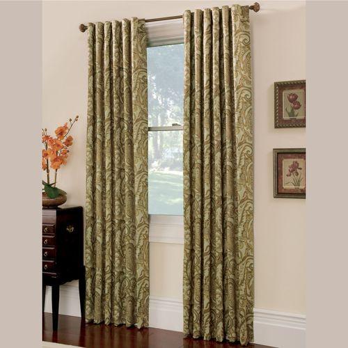 Bali Back Tab Tailored Curtain Panel
