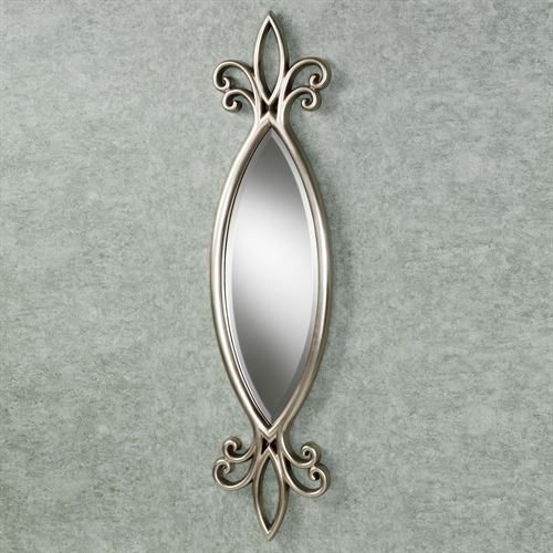 Hally Wall Mirror Silver