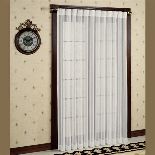 Lucerne Back Tab Patio Curtain Panel 104 x 84