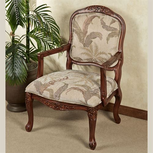 Palm Accent Chair Cream