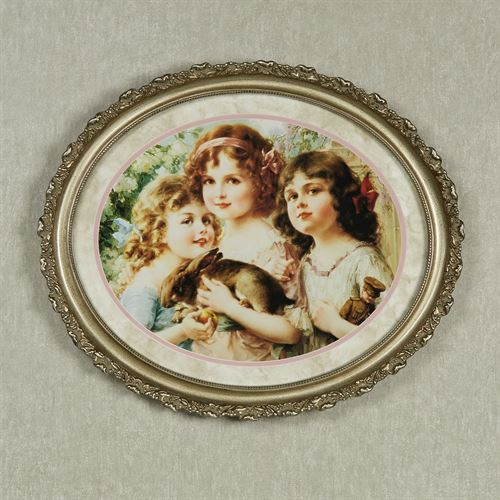 Three Graces Framed Art Picture Ivory