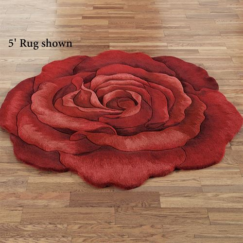 Raelyn Rose Rug Red
