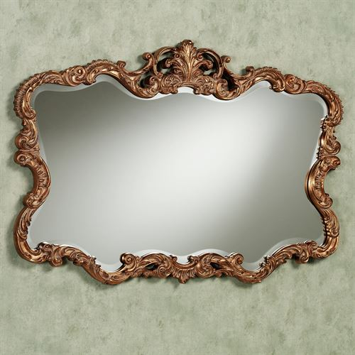 Tamsyn Mirror Antique Gold
