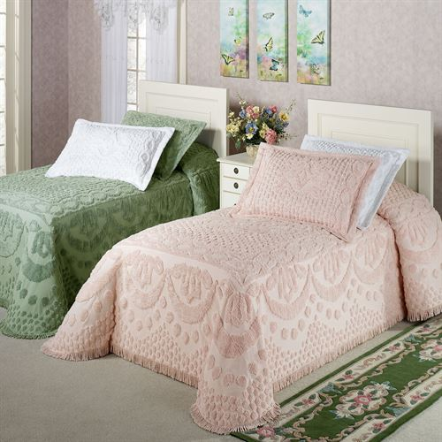 Kingston Pastel Tufted Chenille Bedspread
