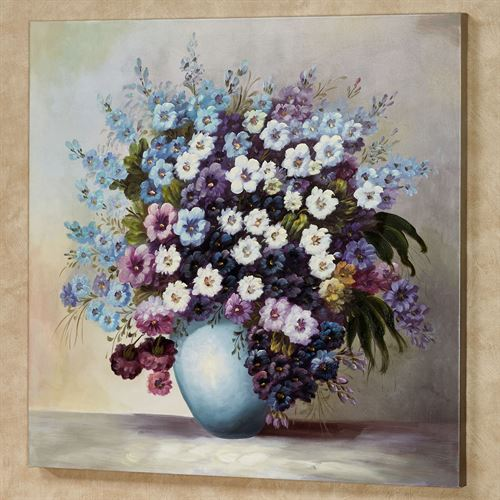 Blossoms of Spring Canvas Wall Art Multi Cool