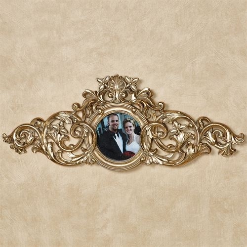 Greysen Photo Frame Decorative Topper Baroque Gold