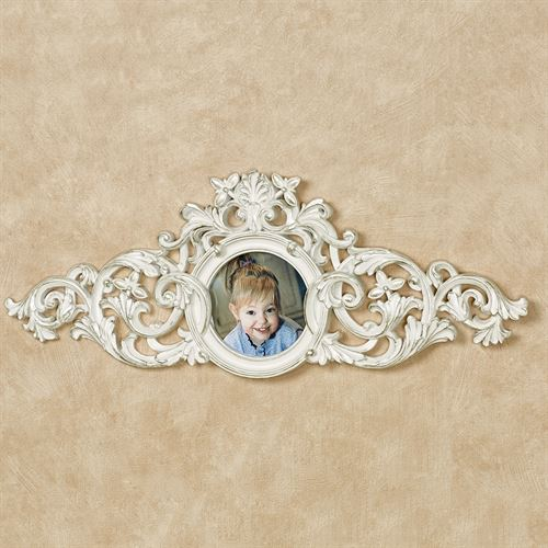 Greysen Photo Frame Decorative Topper Ivory