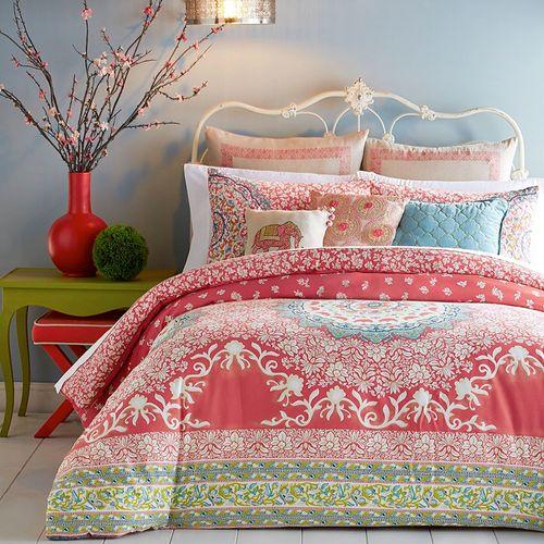 Amrita Medallion Mini Comforter Set Multi Jewel