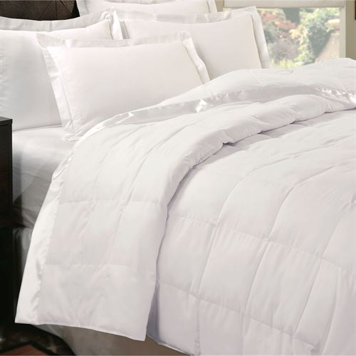 Natural Luxury Down Blanket White