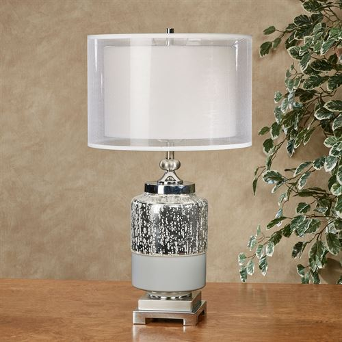 Breccan Table Lamp Chrome