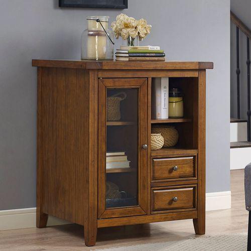 Bailey Autumn Cherry Storage Accent Cabinet
