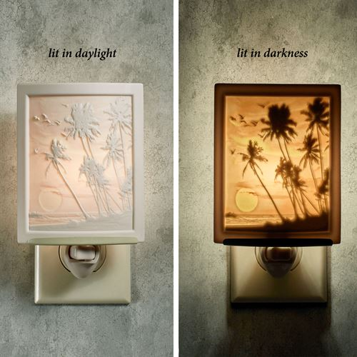 Tropical Sunset Nightlight Light Cream