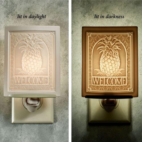 Welcome Pineapple Nightlight Light Cream