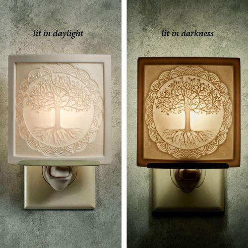 Tree of Life Nightlight Light Cream