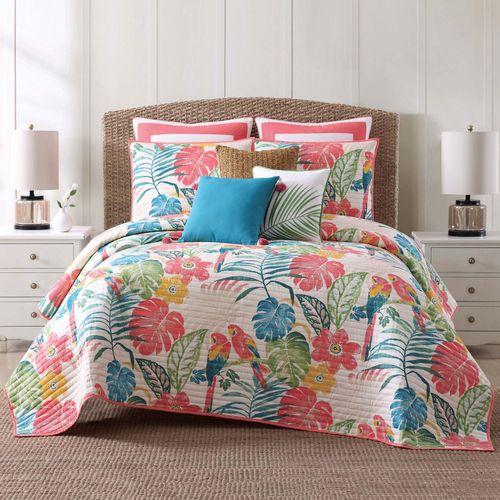 Coco Paradise Quilt Set Multi Bright
