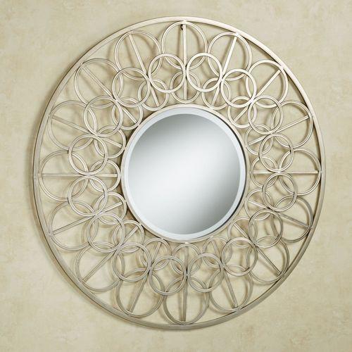 Gillian Mirrored Wall Art Champagne Gold