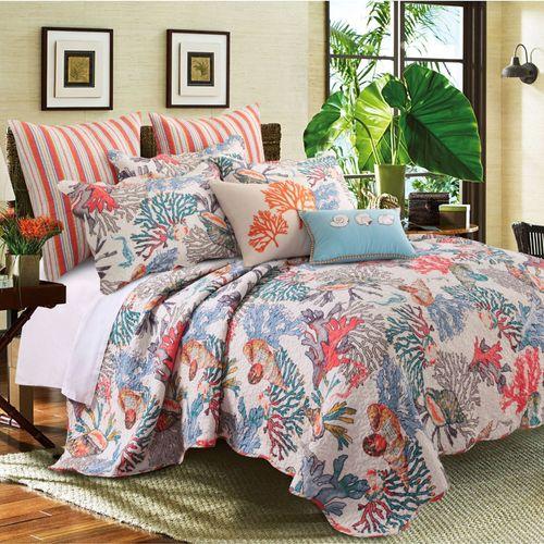 Atlantis Ocean Themed 4848 Pc Quilt Bed Set By Barefoot Bungalow Impressive Atlantis Bedroom Furniture Decor