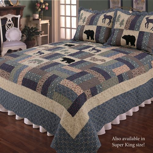 Highlands Quilt Multi Warm