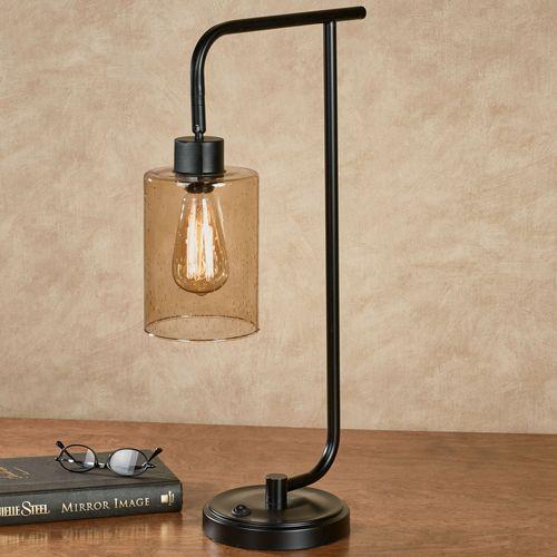 Rho Desk Lamp Black