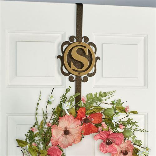 Overture Monogram Wreath Hanger Gold/Bronze