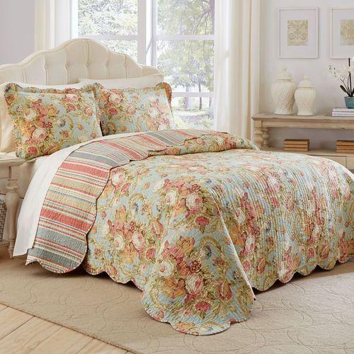 Spring Bling Bedspread Set Celadon