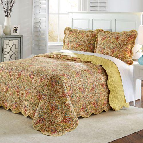 Swept Away Bedspread Set Multi Jewel