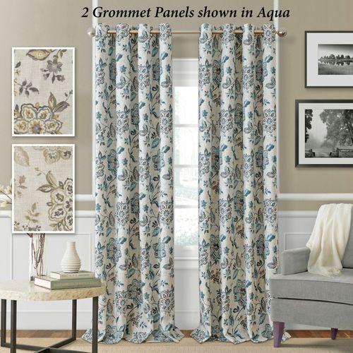 Clermont Grommet Curtain Panel