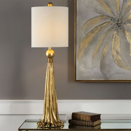Paravani Table Lamp Gold
