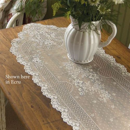 Floret Lace Table Runner
