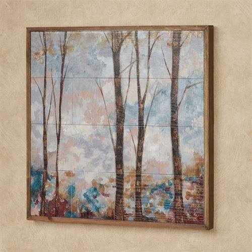 Natures Glory Wall Art Plaque Multi Earth