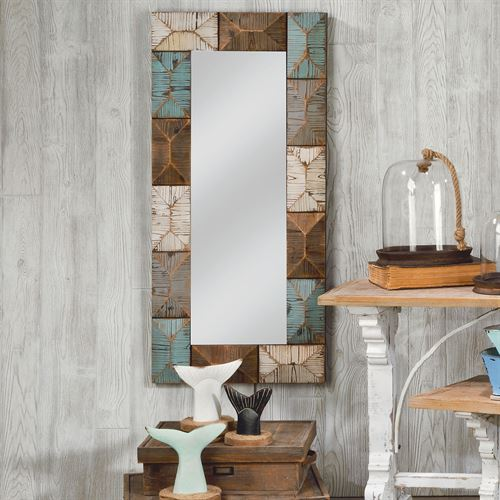 Gallagher Wall Mirror Multi Earth